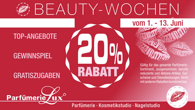 Beauty-Wochen 2015