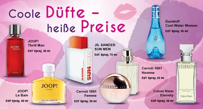 Angebot Parfum - Beauty-Wochen