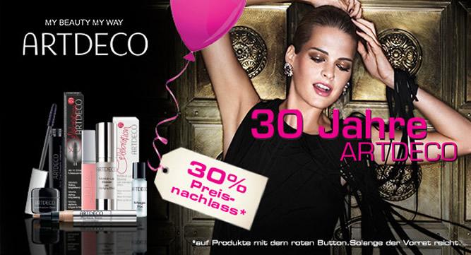 Artdeco 30 Prozent Rabatt - Beauty-Wochen