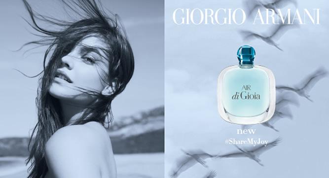 Giorgio Armani - Air Di Gioia (Beauty-Wochen 2016)