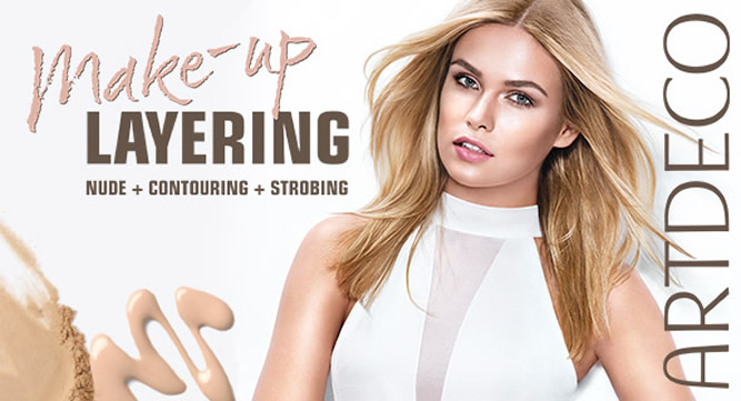 Artdeco - Make-up Layering (Beauty-Wochen 2016)