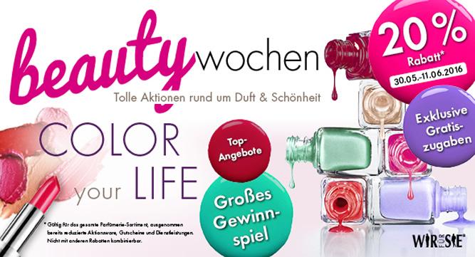 Banner Beauty-Wochen 2016 (20 Prozent)