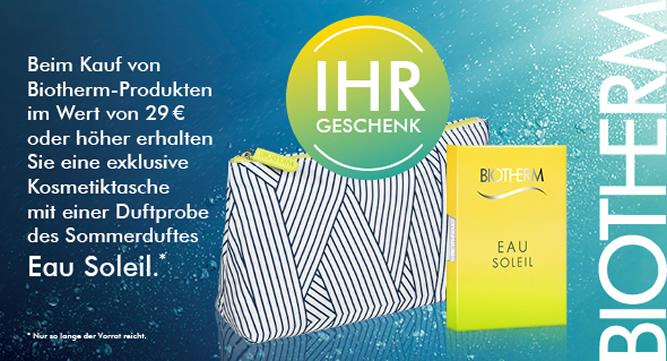 Biotherm - Eau Soleil mit Tasche (Beauty-Wochen 2016)