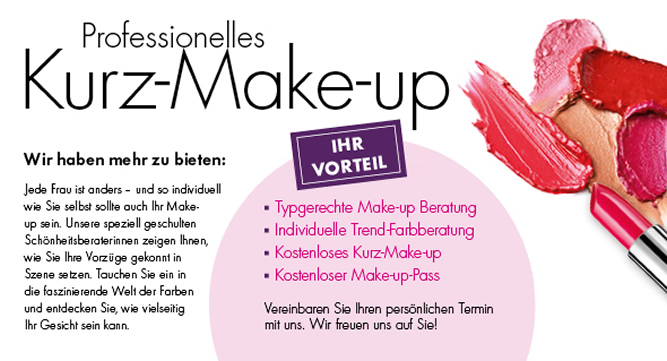 Kurz-Make-Up (Beauty-Wochen 2016)