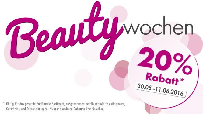 Beauty-Wochen 2016