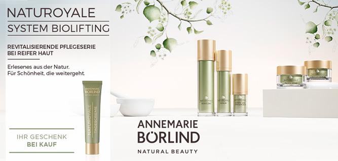 Annemarie Börlind: Naturoyale + GwP