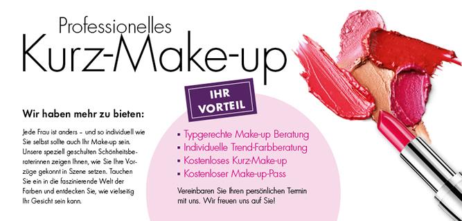 Service Kurz-Make-up