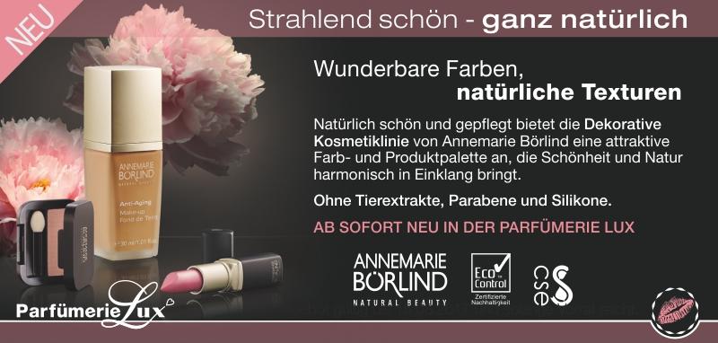 Annemarie Börlind: Dekorative Kosmetiklinie