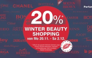 Winter Beauty Shopping
