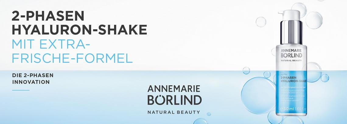 Wir-für-Sie Annemarie Börlind 2-Phasen Hyaluron Shake