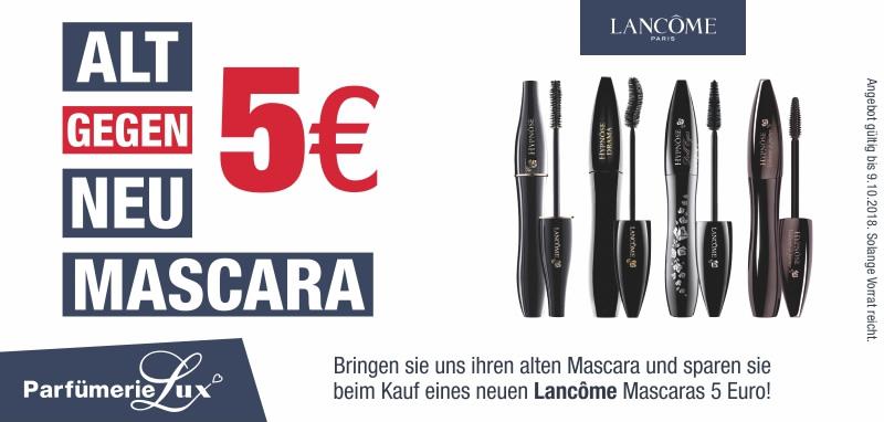5 Euro sparen bei Lancôme Mascaras