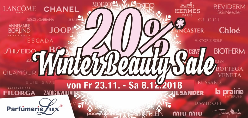 Winter Beauty Sale
