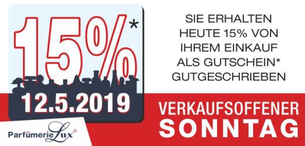 Verkaufsoffener Sonntag Mai 2019