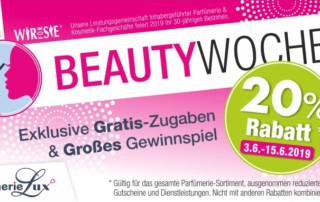 Beauty-Wochen 2019