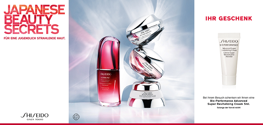 Shiseido - Beauty Secret GWP
