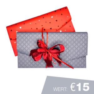 Geschenkgutschein Wert €15