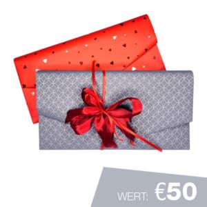Geschenkgutschein Wert €50