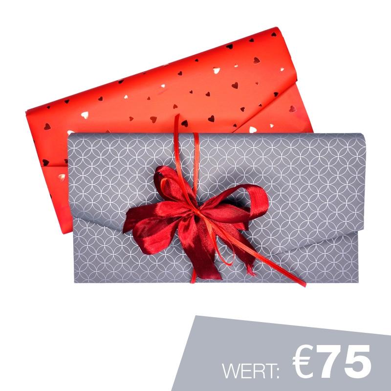 Geschenkgutschein Wert €75